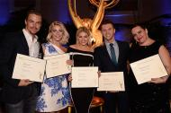 Derek along with his fellow Emmy nominees during the Emmy Award Nominees Reception Ceremony - August 30, 2015 Courtesy emmys.com
